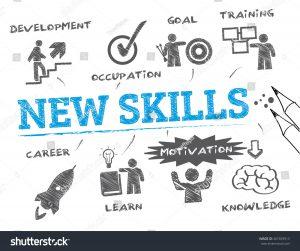 ilustrasi skill development training learn knowledge motivation